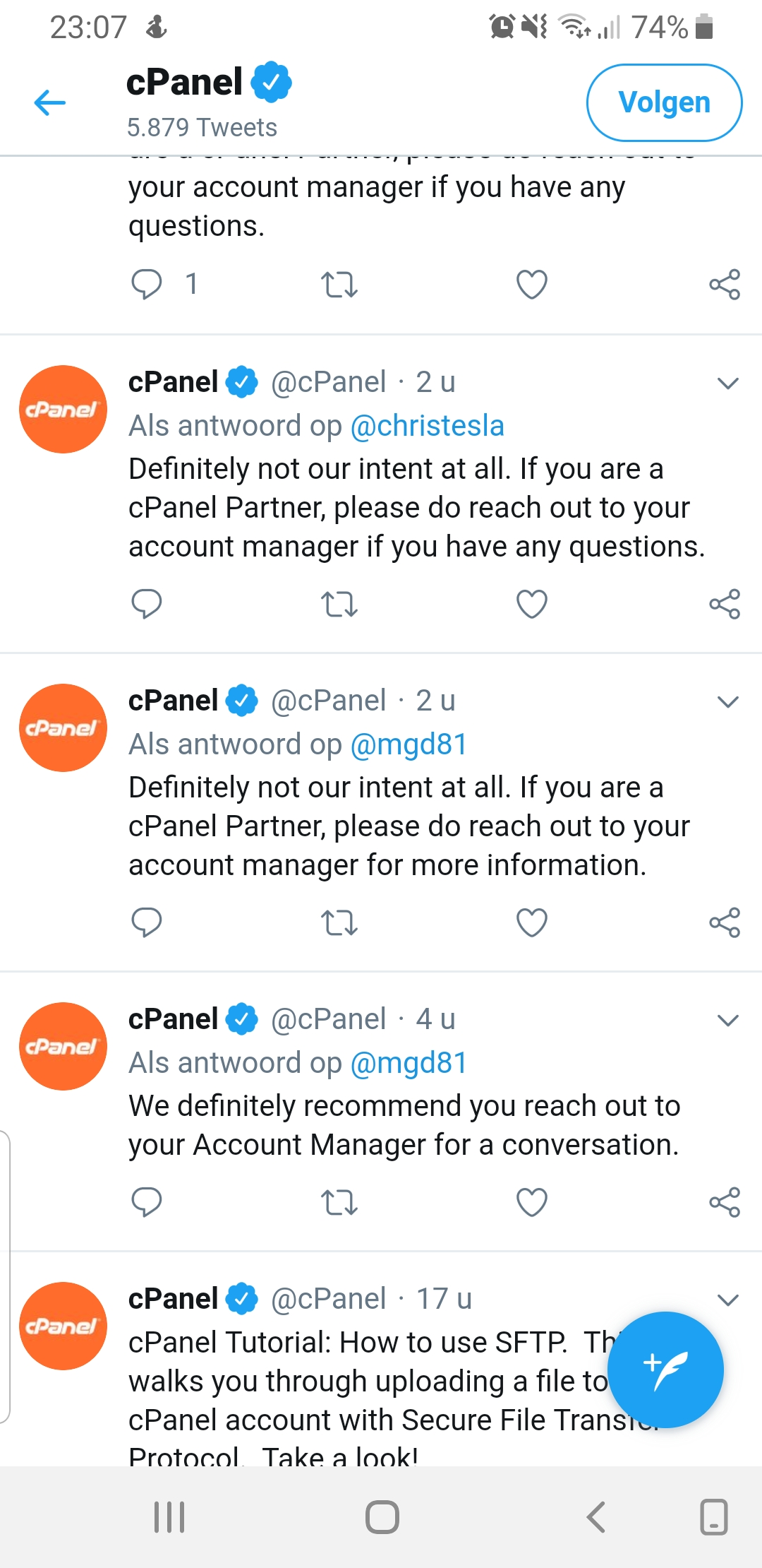 cPanel Change in Pricing - HostBalls