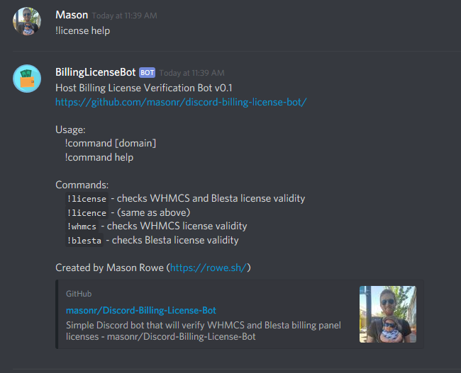 WHMCS + Blesta License Verification Discord Bot - HostBalls